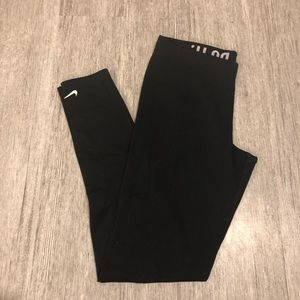 Nike therma fit leggings just do it black